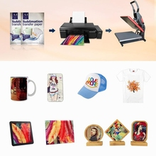 A4 Sublimation Paper 100 Sheets for DIY Unique Christmas Gifts Compatible with Inkjet Printer