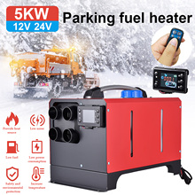 5KW Car Heater 12V Diesels Fuel Air Heater Parking Heater With Remote Control LCD Monitor For Motorhome Trailer Trucks Boats