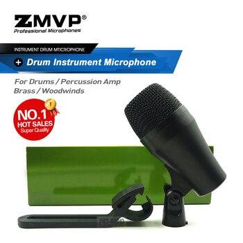 Профессиональный PGA52 перкуссионный барабанный микрофон PGA 52 Инструмент Динамический микрофон для Bass Amp Kick Tom Snare Stage Studio Live