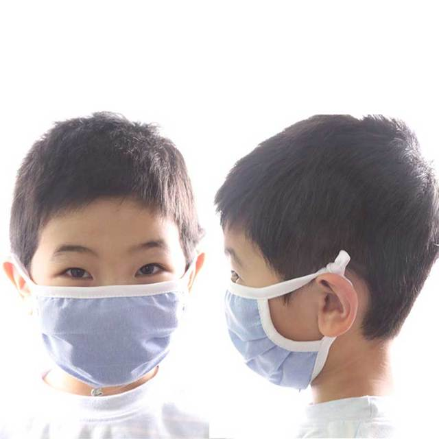 Men Women adult  Non-woven Anti Dust Mask Activated Filter 2layers Mouth Mask Muffle Bacteria Proof Flu Face Masks 4