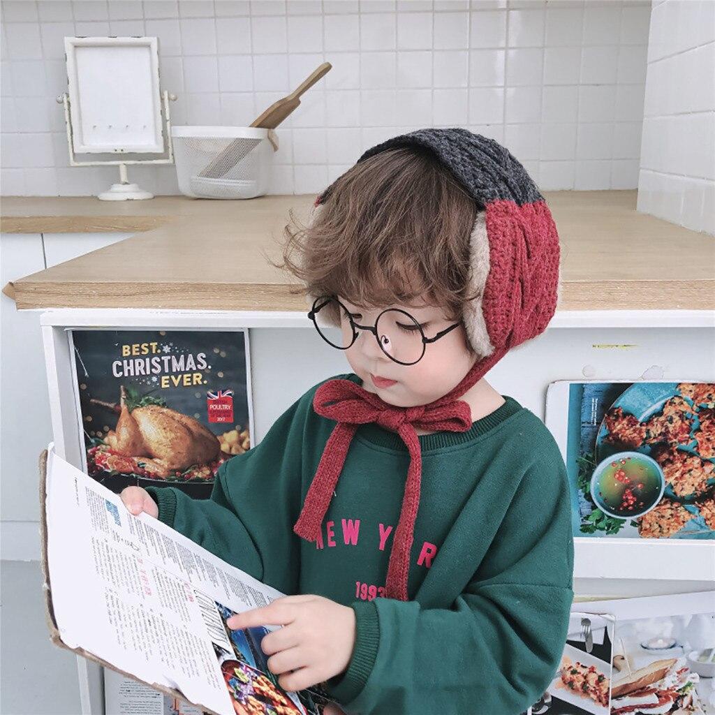 Kids Winter Accessories For Women Scarf Earflap Winter Autumn Warm Plush Ear Muffs Cute Fashion Ear Warmer Orejeras De Invierno