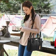купить High Quality PU Leather Handbags Shoulder Tote Bag Womans Large Messenger Bag Crossbody Bag Blue For Women Black Bolsas Feminina по цене 1157.38 рублей