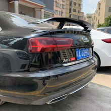C7 A6 Spoiler GT Style Carbon Fiber Rear Trunk Wing For Audi / 4G 2012 - UP