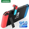 Ugreen Bluetooth 5,0 Schalter Sender Audio 3,5mm Adapter für Nintendo Schalter Lite APTX LL Niedrigen Latenz Wireless Transmitter