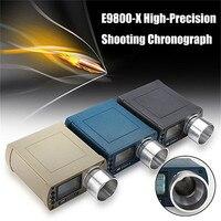 E9800 X Shooting Speed Tester High Precision Shooting Chronograph 10C to 50C 0 500J Firing Kinetic Energy LCD Screen