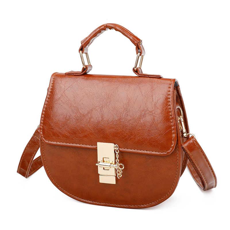 2019 модная новая женская сумка высокого качества из искусственной кожи женская сумка дизайнерская Роскошная сумочка черные Наплечные сумки маленькие сумки-мессенджеры