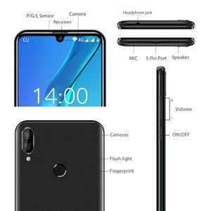 "Image 4 - Oukitel C16 Pro Android 9.0 Smartphone Face ID 5.71"" 19:9 Water drop Screen 3GB RAM 32GB ROM MT6761P Quad Core 4G Mobile Phone"