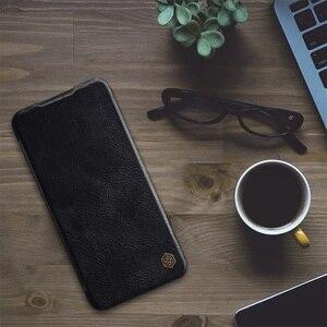 Image 3 - Für Xiaomi Redmi Note 8 Pro Flip Fall Nillkin Qin Vintage Leder Flip Abdeckung Karte Tasche Brieftasche Fall Für Redmi note8 Telefon Taschen