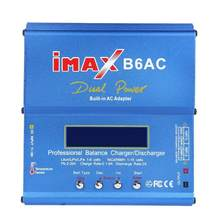 IMAX B6AC Battery Balance Charger Tegangan Input Data Pemantauan Penyimpanan 80W Lipro NiMH Li-ion Ni CD Lithium Tunggal(China)
