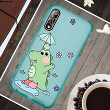 Dinosaurus 3 Silicon Soft Tpu Case Cover Voor Vivo Iqoo Neo V17 V19 Pro(China)