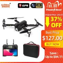 グローバルドローン 4 18k profissionalフォローミーrc dron 5 グラムwifi fpv quadrocopter gpsドローンカメラ、hdスピーカーvs SG906 E520 F11 プロ