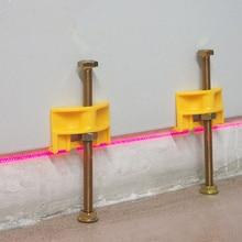 10 قطعة دليل بلاط محدد ألواح حائط منظم ارتفاع تعديل الموضع مستوي السيراميك غرامة الموضوع ارتفاع أداة بناء