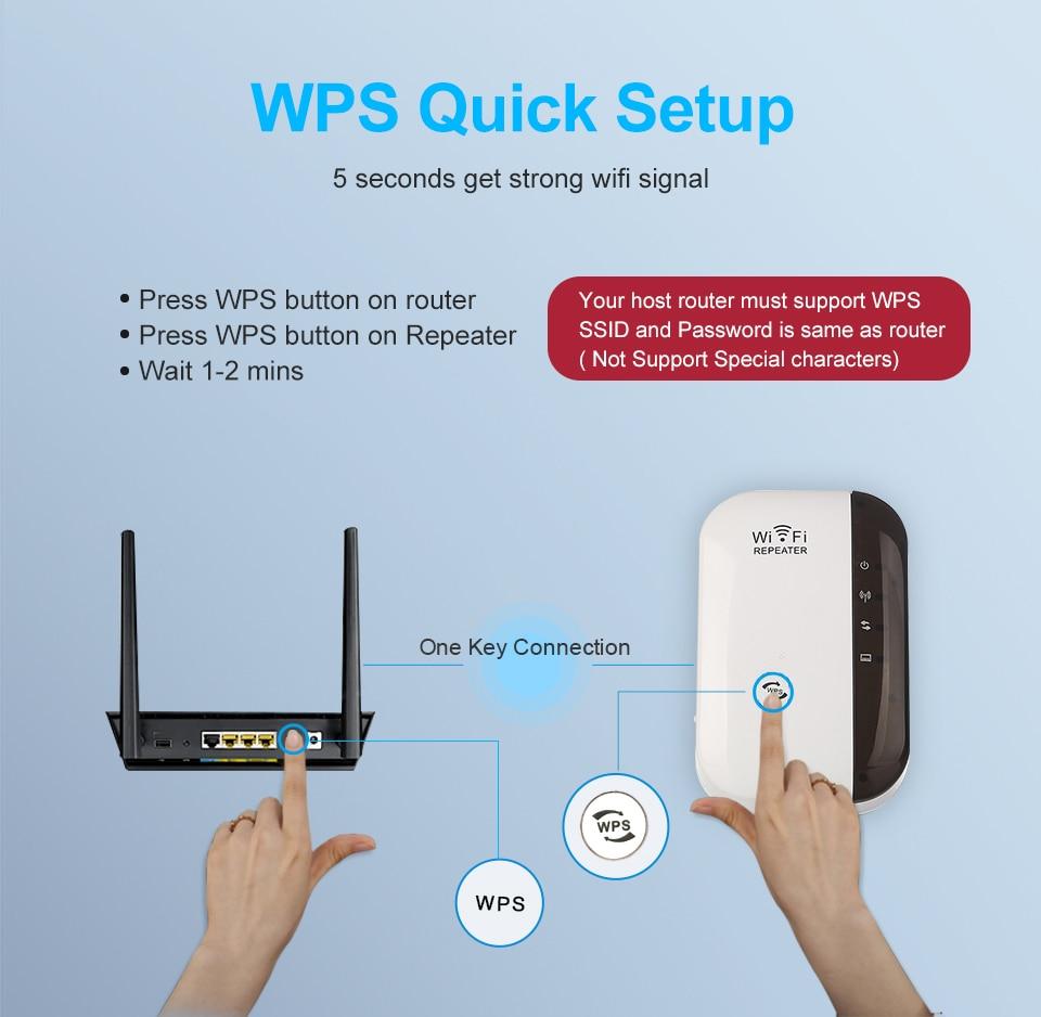 Répéteur amplificateur Super Boost wifi,  extender 300 Mbits