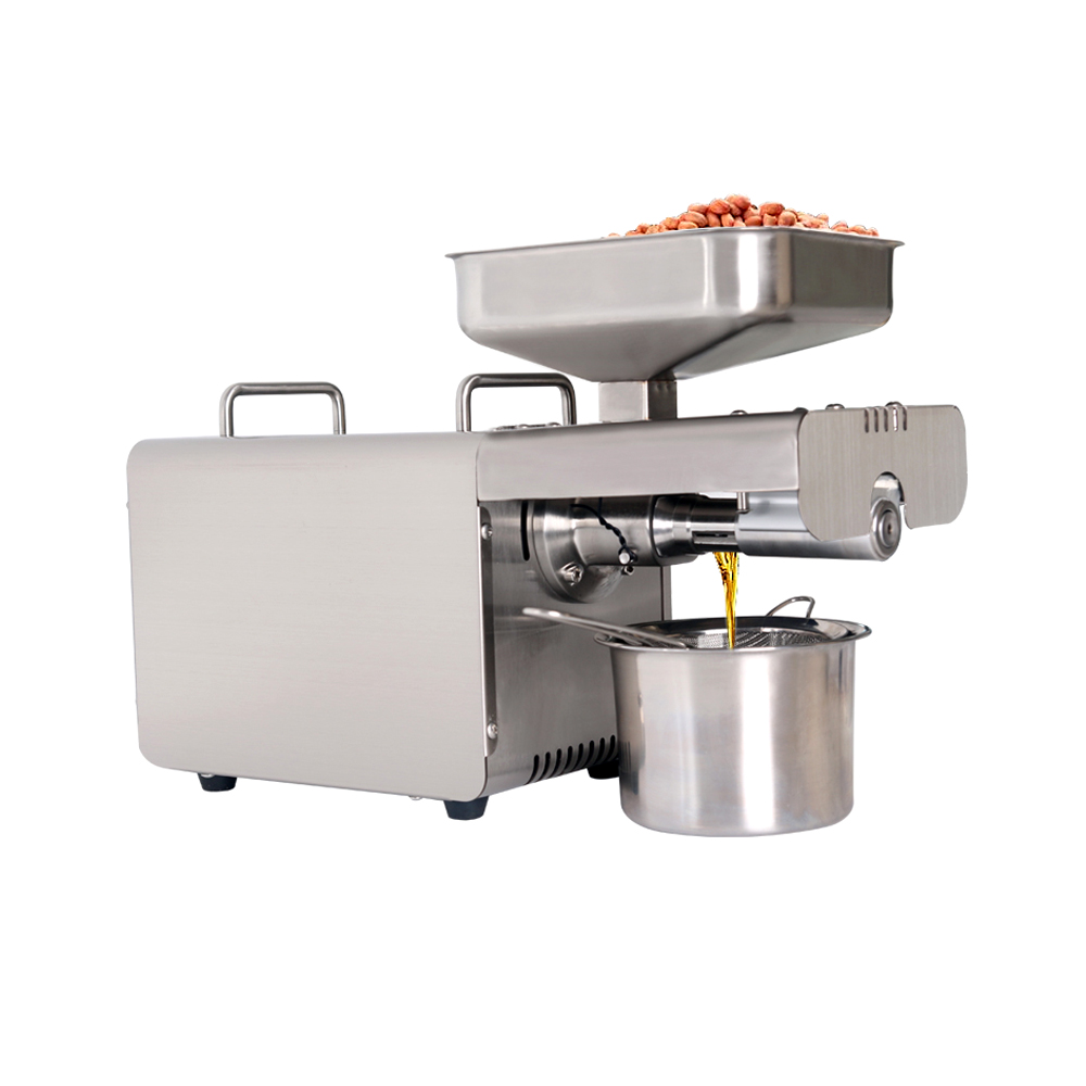 ITOP Stainless Steel Oil Presser Home Use Oil Press Machine Peanut/Olive Oil Maker 220V/110V Suitable For Sesame/Almond IT-15