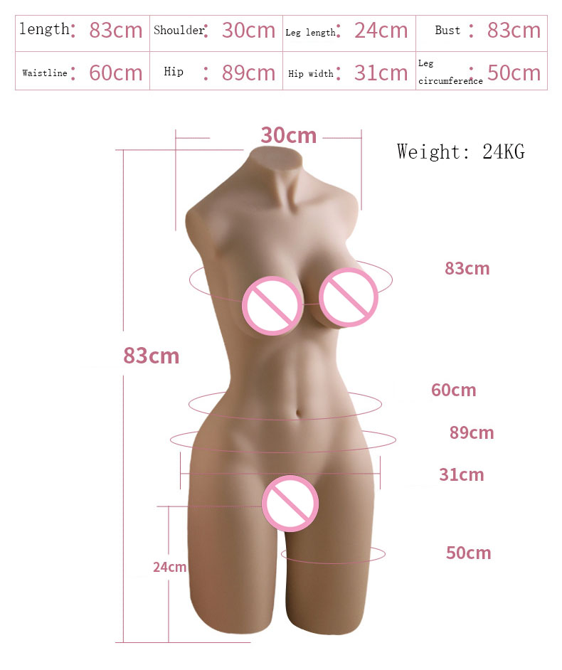 Doll Sex Torso | Life Size Masturbator