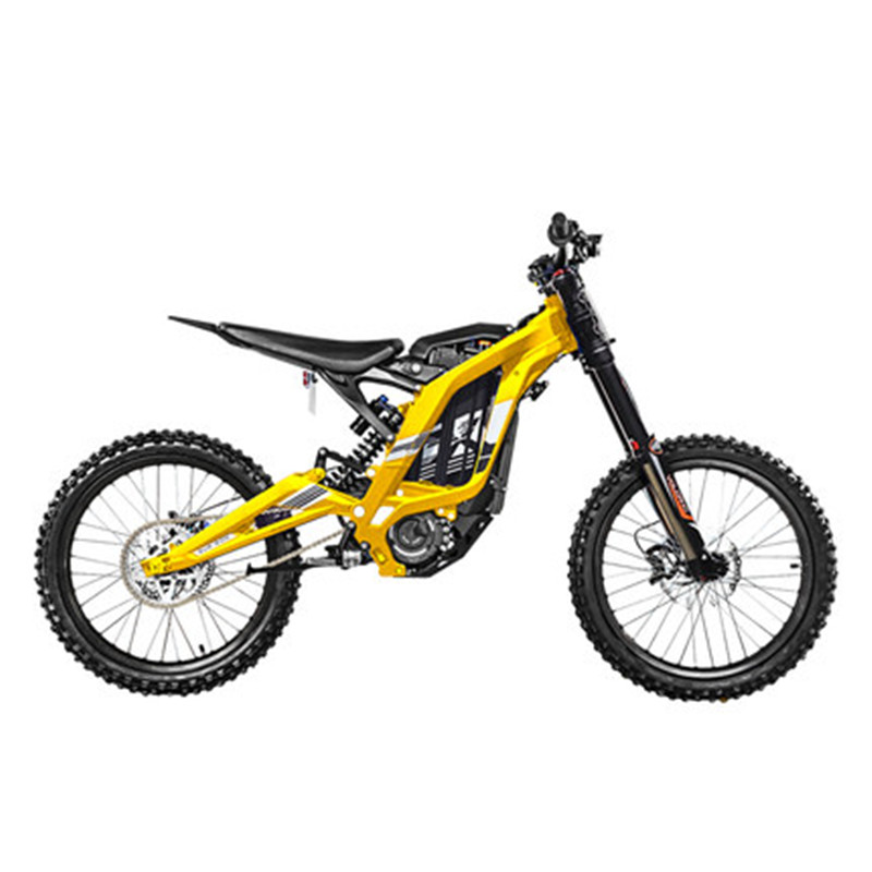 Electric motorcycle mountain cross-country bicycle mountain bike all-aluminum body 45 degree high torque 60V/32Ah/5400w 1