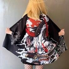 Kimono Women Japanese Summer Beach Cardigan Haori Yukata Women Samurai Costume Clothing Summer Kimono For Women Cosplay Shirt