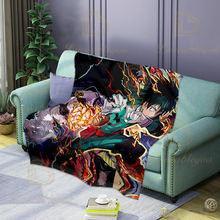 Фланелевое Одеяло для сна «Моя геройская Академия» новое аниме