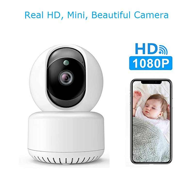 1080P Mini Smart Alarm Ip Camera Draadloze Wifi Beveiliging Cctv Indoor Surveillance Camera Babyfoon Onvif Icsee Xmeye