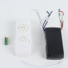 Universal Ceiling Fan Lamp Remote Control Kit 110-240V Timing Wireless Switch Adjusted Wind Speed Transmitter Receiver