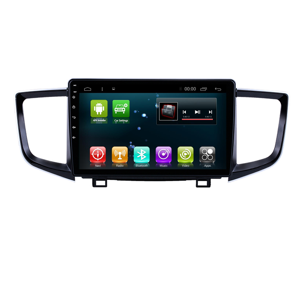 Android 8.1 IPS Car Radio <font><b>GPS</b></font> Stereo Navi <font><b>for</b></font> <font><b>Honda</b></font> <font><b>Pilot</b></font> 2016-2018 Head Unit In Dash Multimedia Video Player with Bluetooth Wi image