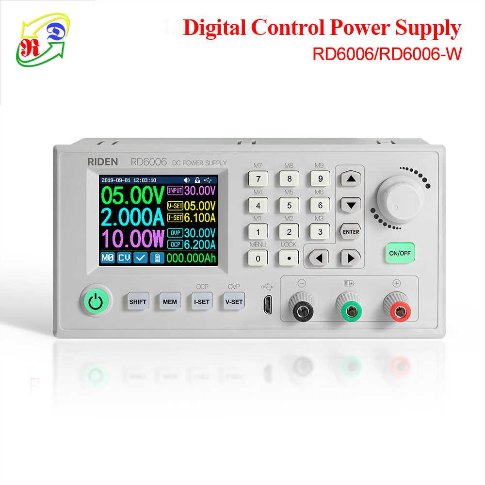 RD RD6006 RD6006W USB WiFi DC-DC מתח הנוכחי צעד למטה אספקת חשמל מודול באק ממיר מתח מד מתח 60V 6A