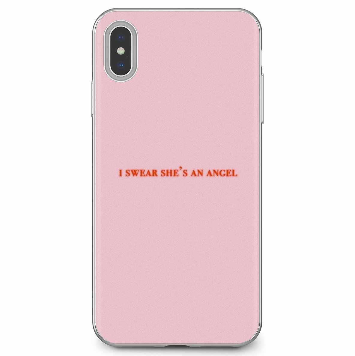 Pastel Pink Wallpaper Adorable Silicone Phone Case For Iphone 11 Pro 4 4s 5 5s Se 5c 6 6s 7 8 X 10 Xr Xs Plus Max For Ipod Touch Phone Case Covers Aliexpress