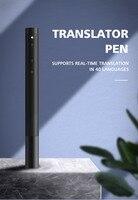 Tradutor inteligente 40 línguas tradutor de voz tradução interpretação simultânea Portátil caneta|Tradutor| |  -