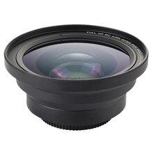 Profissional 37mm macro + 72mm grande angular lente 0.39x hd completo para 4k filmadora