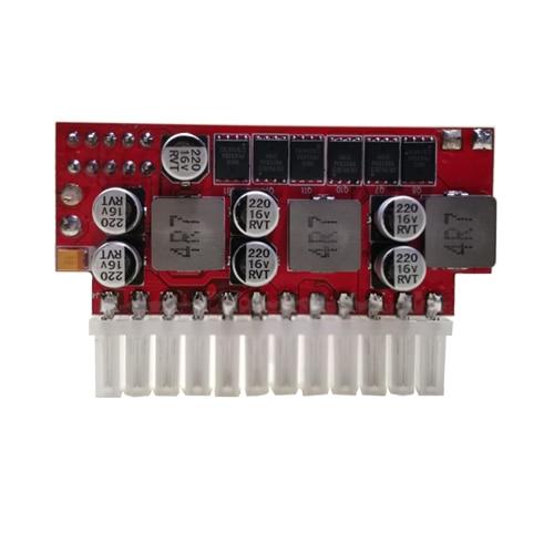 Модуль преобразования в линию NAS 12 В, многодисковый блок питания без шума, блок питания ATX, переключатель ccio HDD SSD
