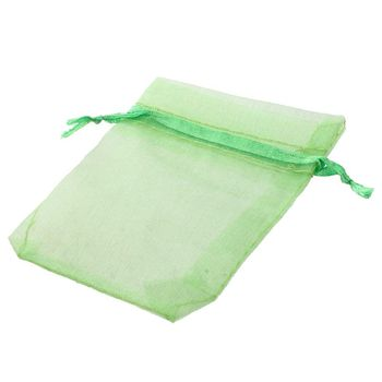 New 100 Pcs Organza Wedding Favour Bags Jewellery Pouches
