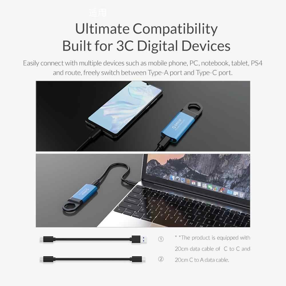 ORICO Mini Esterno SSD DA 1TB 128GB 256GB 512GB M2 NVME Hard Drive Hard Disk Portatile SSD USB C 3.1 10Gbps Esterno Disco A Stato Solido