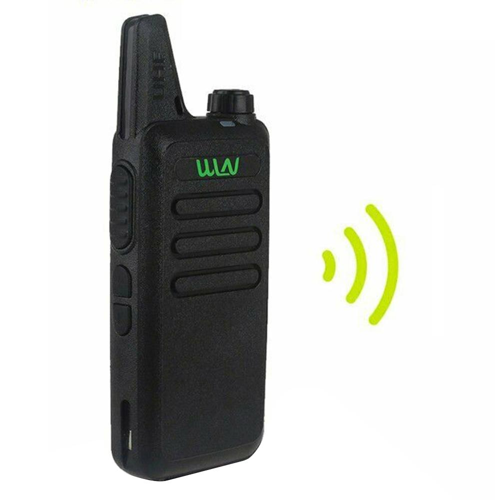 1/2Pcs Handheld Walkie Talkie Portable Radio 5W High Power UHF Handheld Two Way Ham Radio Communicator HF Transceiver
