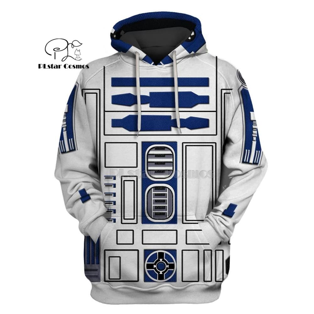 PLstar Cosmos Movies Star Wars SW Robot 3d Hoodies/Sweatshirt Winter Autumn Funny Harajuku Halloween Cosplay Streetwear