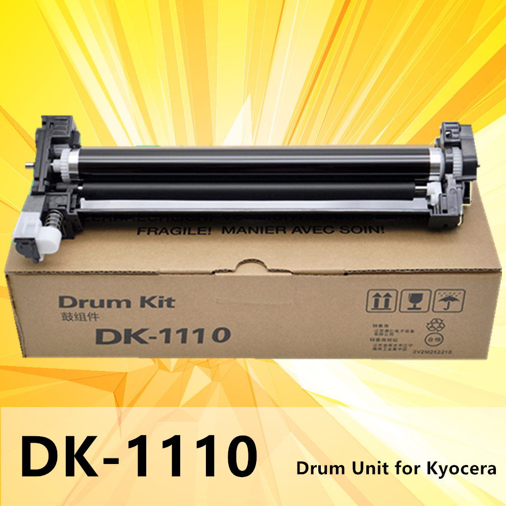 compatible DK1110 DK 1110 DK-1110 drum unit for <font><b>Kyocera</b></font> <font><b>FS</b></font>-1060dn <font><b>1125mfp</b></font> 1025 FS1040 1020 1120MFP printer drum kit image