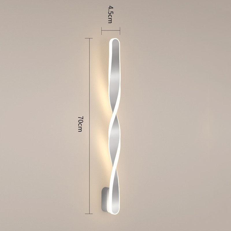 wecus designer especial 70cm lampadas parede led 02