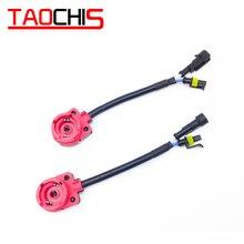 TAOCHIS D2S D2R D4S D4R розетка усилителя жгут проводов HID ксеноновая лампа автомобильный светильник Замена апгрейд x 10 шт