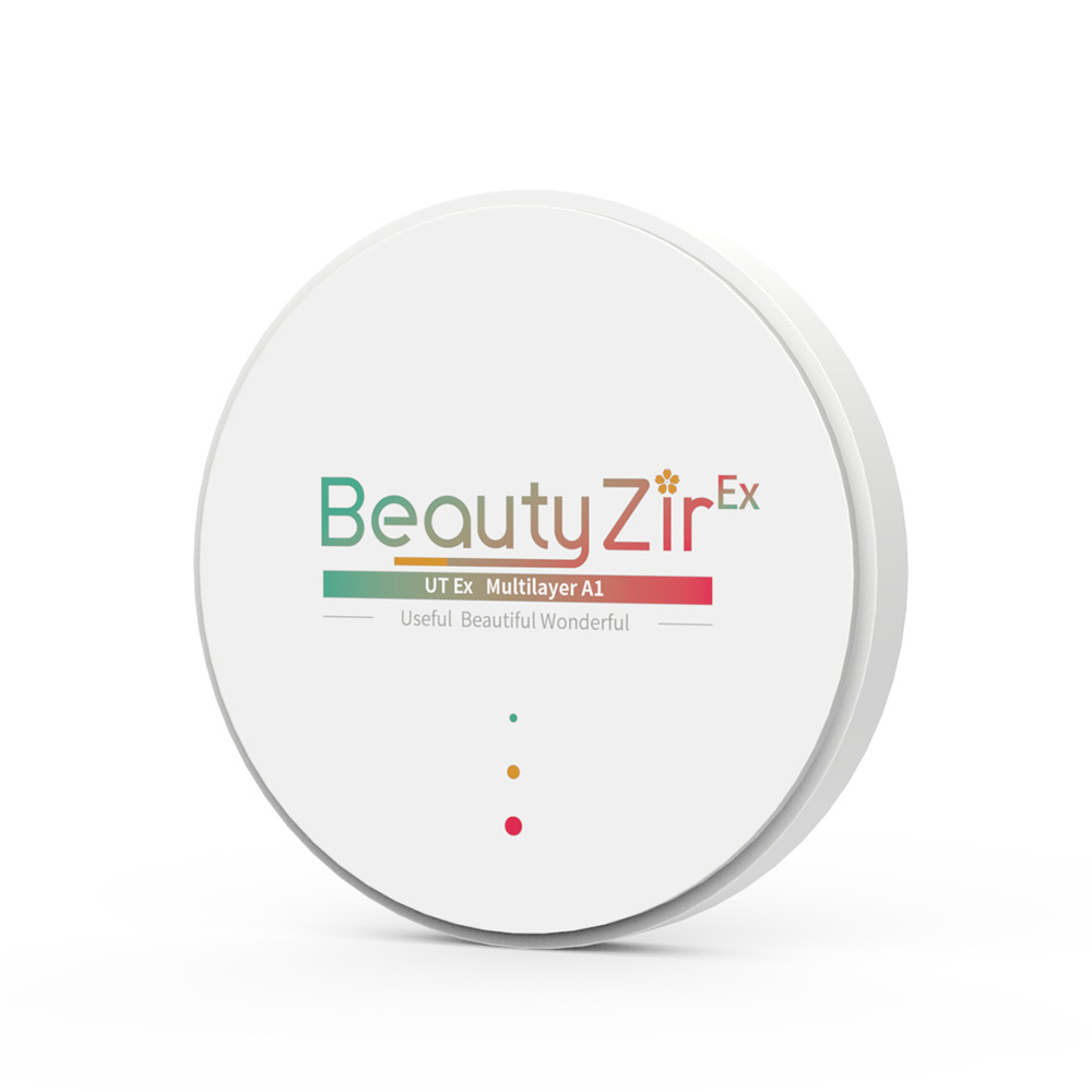 UT Extreme A3 9812/14/16/18/20/22/25mm New Product  Ultra Translucency High Strength Dental Zirconia Discs UT EX