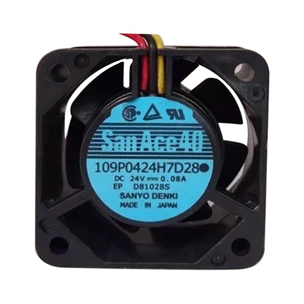 109P0424H7D30 24V 0.08A Original SanAce40 Fanuc CNC Lathe Power Fan