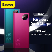Baseus 20000mAh Power Bank for iPhone 11 X Xs 22.5W PD Fast
