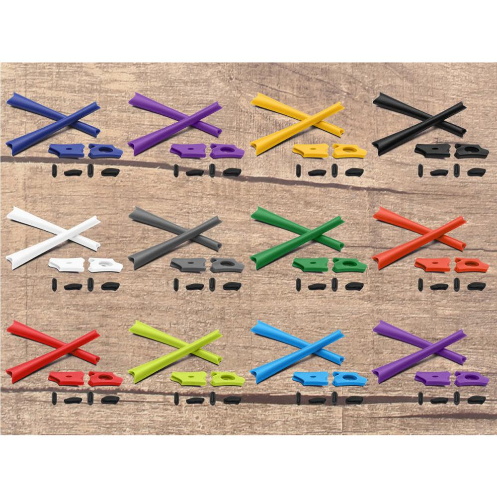 Vonxyz Replacement Nose Pads Ear Socks For-Oakley Flak Jacket/ Flak Jacket XLJ Frame Varieties