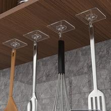 Cup Sucker Hooks Suction Wall-Hangers Self-Adhesive Heavy-Load-Rack Door Bathroom Kitchen