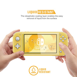 Image 5 - Mini NS Switch Lite TPU Protect Shell for Nintendos Switch Console Shell Case Anti scratch Dustproof Transparent Crystal Film