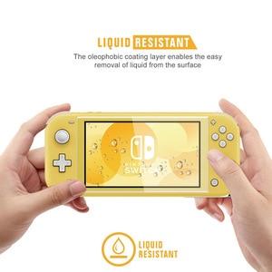 Image 5 - Mini przełącznik NS Lite ochrona TPU Shell dla Nintendos przełącznik konsoli Shell Case Anti scratch pyłoszczelna przezroczysta folia kryształowa