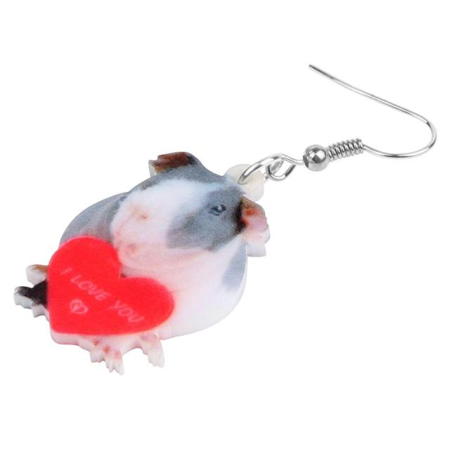 Heart Mouse Earrings 1