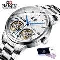 Горячая HAIQIN, мужские часы от ведущего бренда, роскошные высококачественные автоматические механические Спортивные часы, мужские наручные ...
