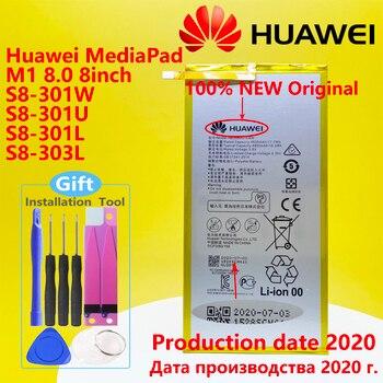 """Original Huawei MediaPad T1 10 Pro / S8 S8-701u S8-701W MediaPad M2 M1 8.0"""" 4800mA HB3080G1EBW Tablet Battery HB3080G1EBC 1"""