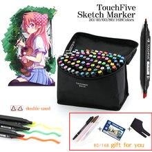 Маркеры touchfive набор маркеров для живописи 30/40/80/168 цветов