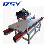 High efficiency semi automatic 45 degree V shaped water jet marble floor tile cutting chamfer machine/ceramic stone edger