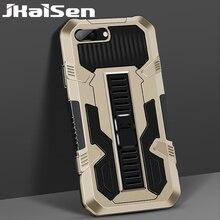 JKaiSen جراب واقٍ مقاوم للصدمات مع حامل مخفي لهاتف iPhone 6 6S 7 8 SE 2020 6Plus 7Plus 8Plus